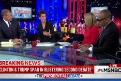 Debate snap polls favor Hillary Clinton