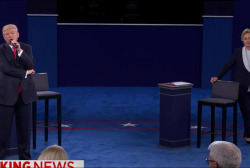 Second presidential debate turns nasty