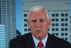 Pence responds to reports of strife with...