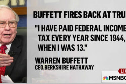 Warren Buffett calls Trump's bluff on taxes