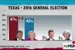 Texas Republican red seen fading