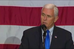 Mike Pence: 'Vigilance is the price of...