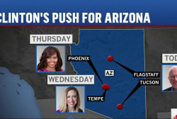 Clinton makes play for AZ