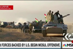 Massive assault aims to drive ISIS from Iraq
