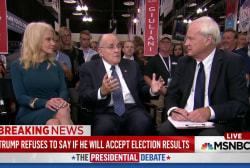 Trump camp cites voter fraud concerns