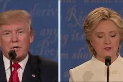 Trump calls Clinton: 'Such a nasty woman'