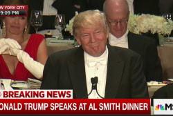 Franken: Trump speech needed some 'joke work'