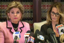 Allred: 'Be careful what you wish for Mr....