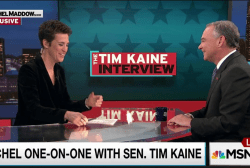 Tim Kaine on the strong women in his life
