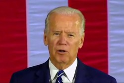 Biden, Trump spat points to need for woman