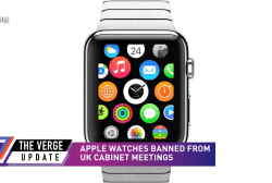 Apple watches banned from UK cabinet meetings