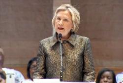 Clinton: Community in pain over Scott...
