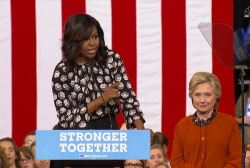 FLOTUS on Clinton: We've never had a more...