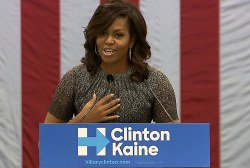 FLOTUS: I was raised in a place Trump...
