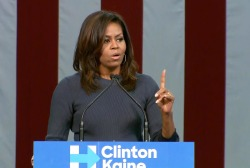 Michelle Obama on Trump's comments: ...