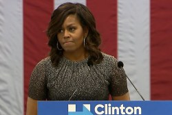 Michelle Obama: Trump threatens the idea...