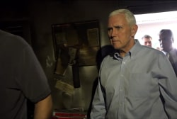 Pence: GOP office bombing an act of terrorism