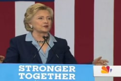 Clinton makes first OH trip since Labor Day