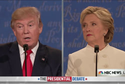 Clinton, Trump Argue Over Late-Term Abortion