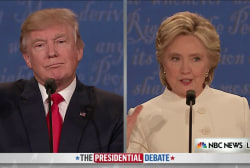 Clinton: Trump Has History of Complaining...