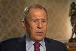 Russian FM fumbles in responding to Trump...