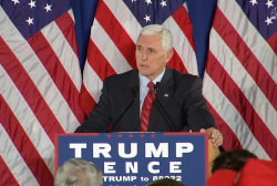 Mike Pence attacks Obamacare premiums