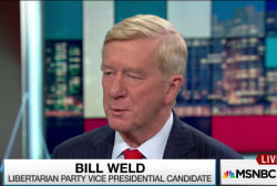 Weld on Trump: 'I fear for the country'