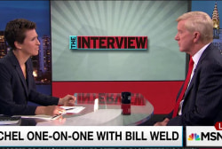 Weld critical of Comey, disagrees with party