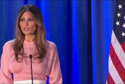 Can Melania move voters so late in the game?