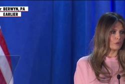 Melania wants to pass on Trump's values