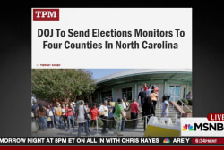 North Carolina's black voter purge