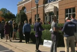 Democrats lead in early voter turnout numbers
