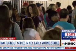 Latino turnout surges in early voting