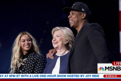 Clinton's 'Love Trumps Hate' concert series