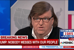 Michael Moore: Trump could win Michigan