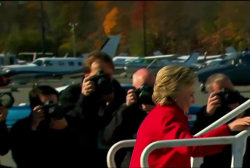 Clinton's marathon campaign wraps up
