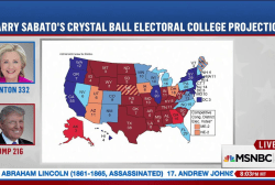 Final electoral college map favors Clinton
