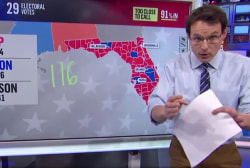 How Florida is voting, county by county