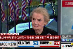 Albright: Clinton's speech was 'important'...