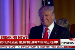 Christie on Obama-Trump meeting at White...