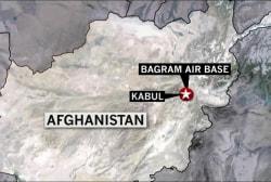 Suicide bomber kills 4 in Afghanistan