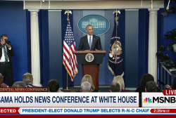 Obama holds post-election press conference