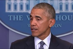 Obama: 'Healthy' for Dems to go through...