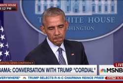 Obama has concerns over Trump presidency