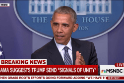 Obama: 'Of course' I have concerns about...