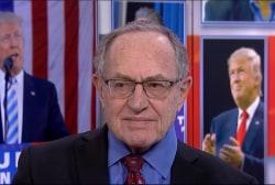 Alan Dershowitz: 'No evidence' Bannon is...