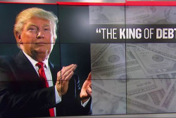 "Donald Trump: ""I'm the king of debt'"