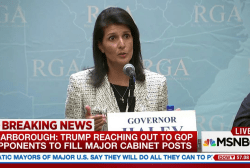 Scarborough: Trump considering Haley for...