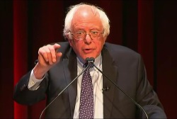 Sanders vows to hold Trump accountable