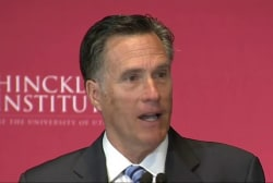 Source: Romney considered for sec. of state